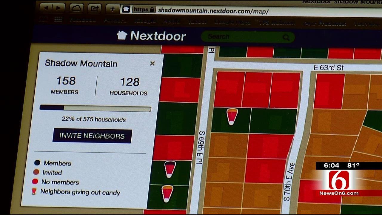 Neighborhood Website Helps Keep Tulsa Trick-Or-Treaters Safe