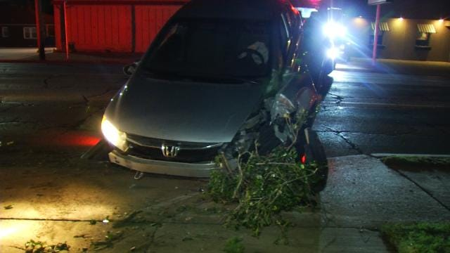 WEB EXTRA: Video From Scene Of Crash At 15th And Evanston