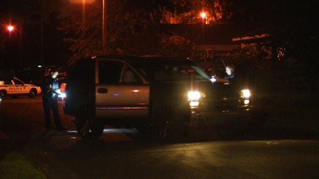 WEB EXTRA: Video Of Scene Where Chevy Tahoe Hit By Bullets On Skelly Drive