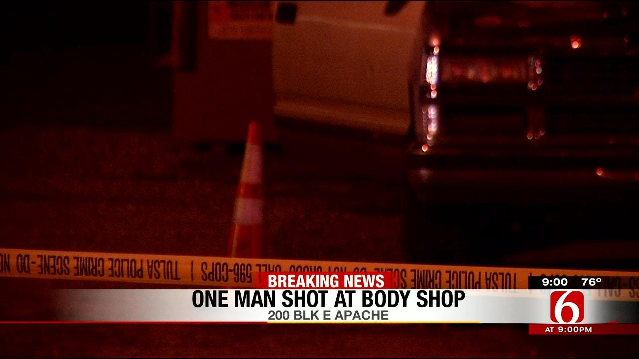Man Shot In Buttocks In North Tulsa Drive By, TPD Says