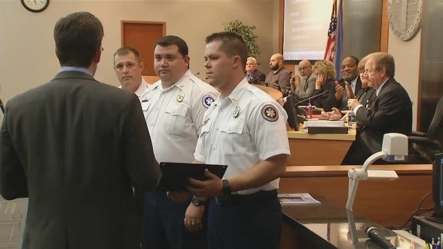 City Councilors Recognize Tulsa's First Responders