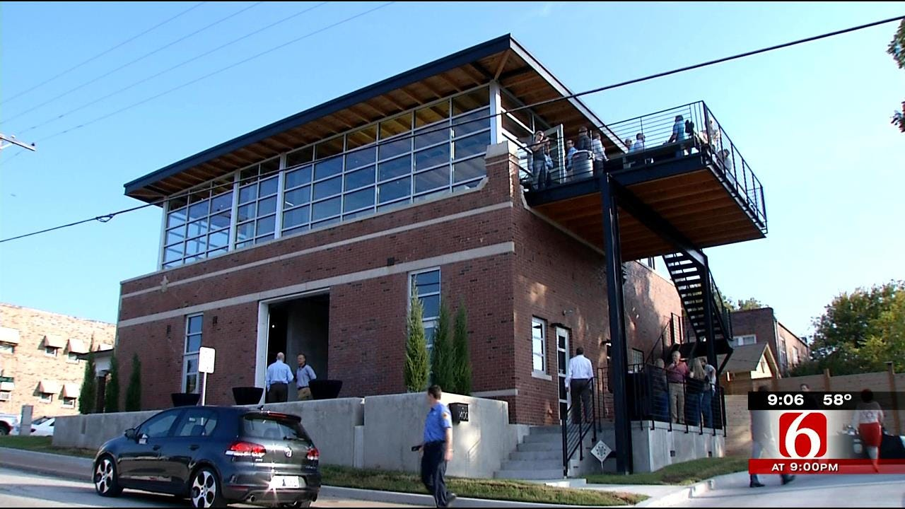 Tulsa Architect Gives 90-Year-Old Fire Station New Facelift