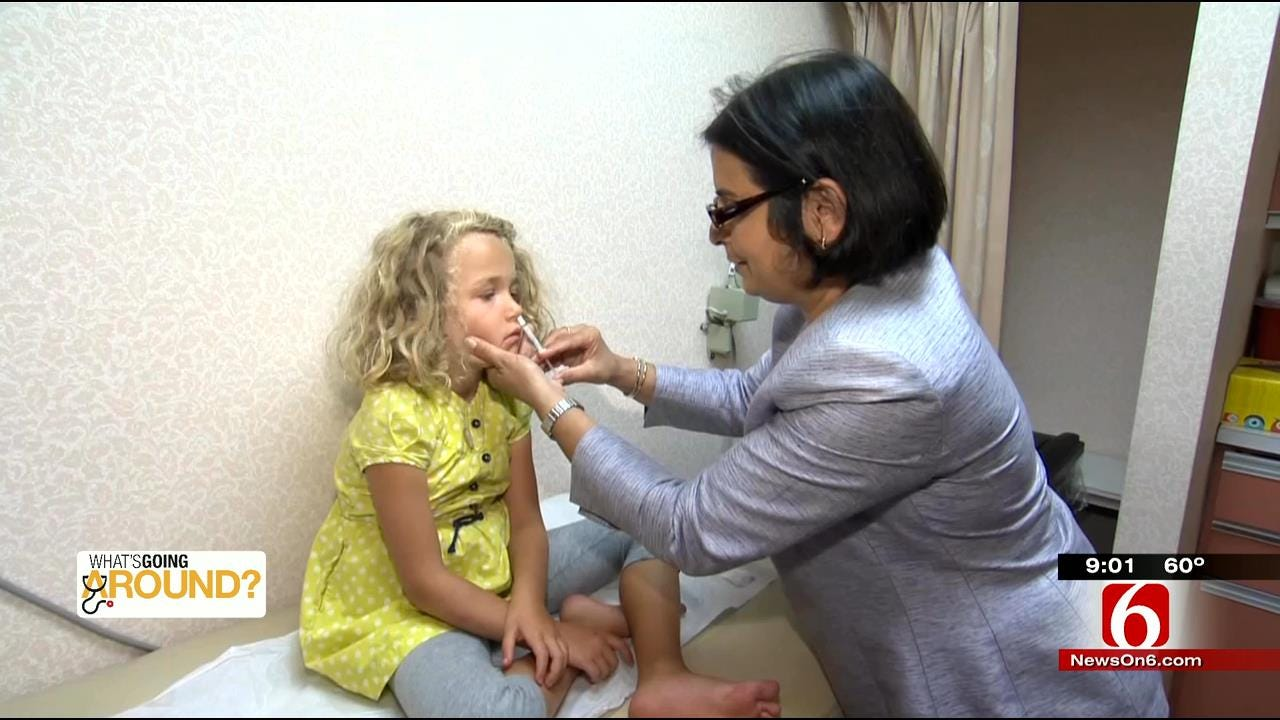 Officials Say FluMist May Work Better For Oklahoma Children