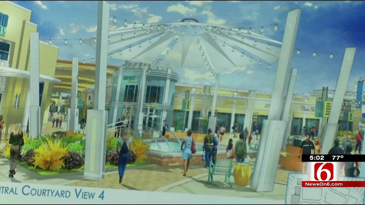 Developers Release Renderings Of Proposed Tulsa Outlet Mall