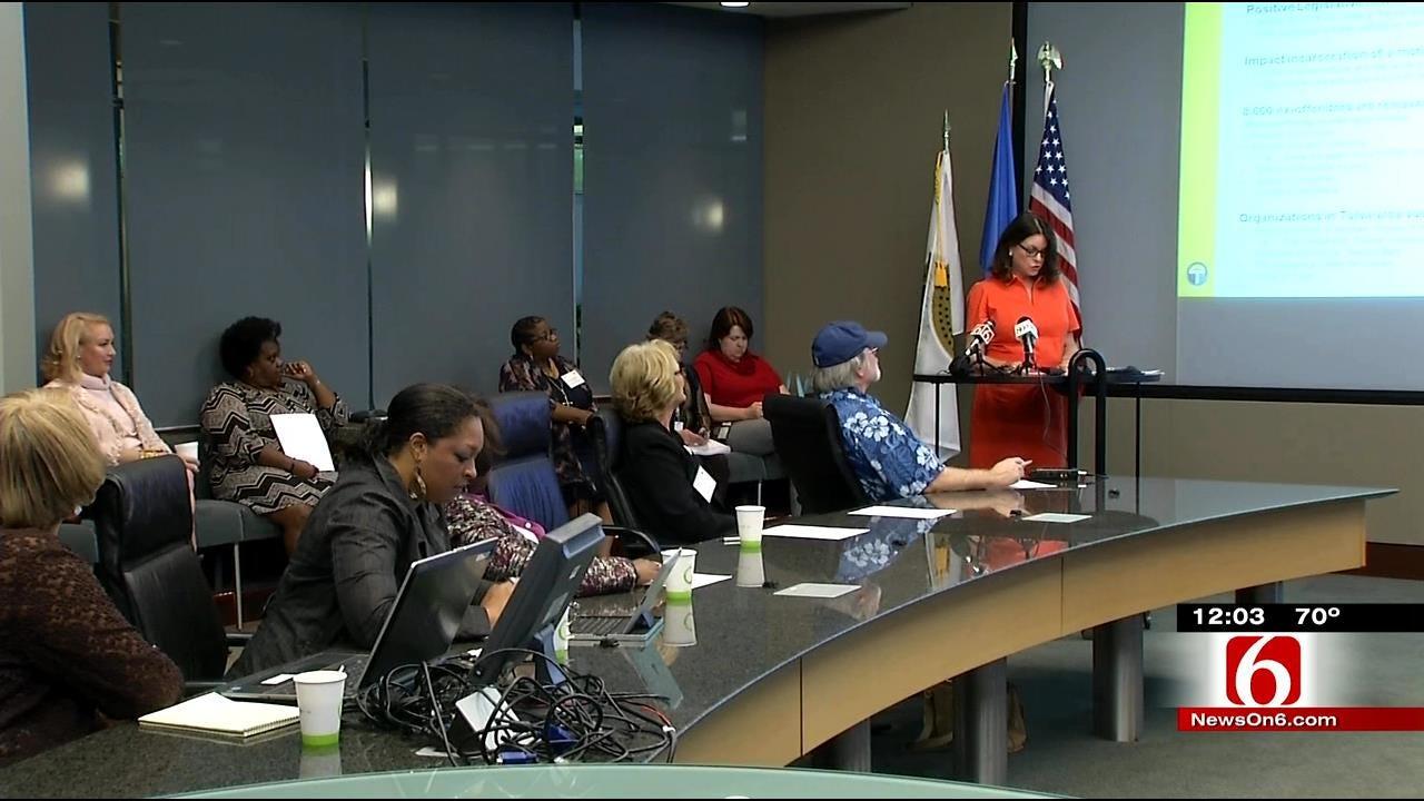 Tulsa Mayor Receives Interim Report On Oklahoma's Female Incarceration Rate