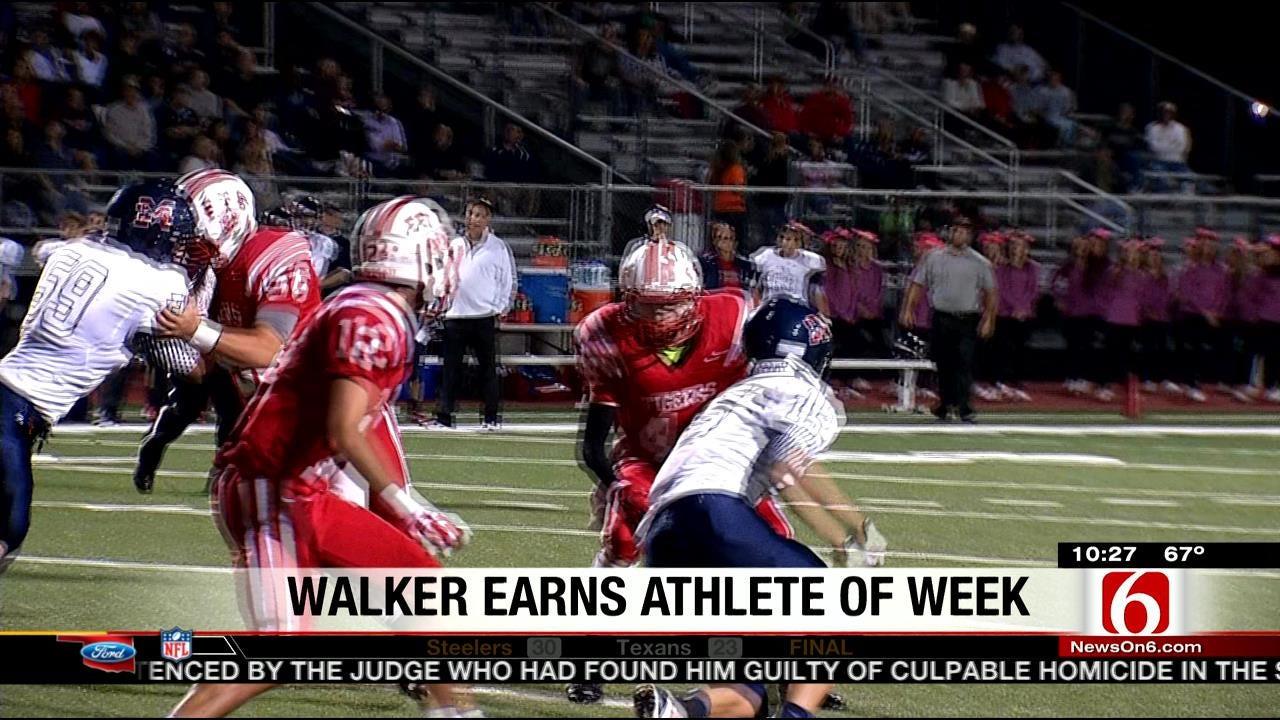 Ft. Gibson's Chris Walker Earns Athlete Of The Week Honors