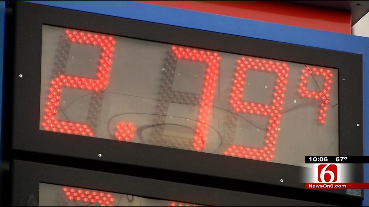 Tulsa Drivers Take Advantage Of Low Gas Prices