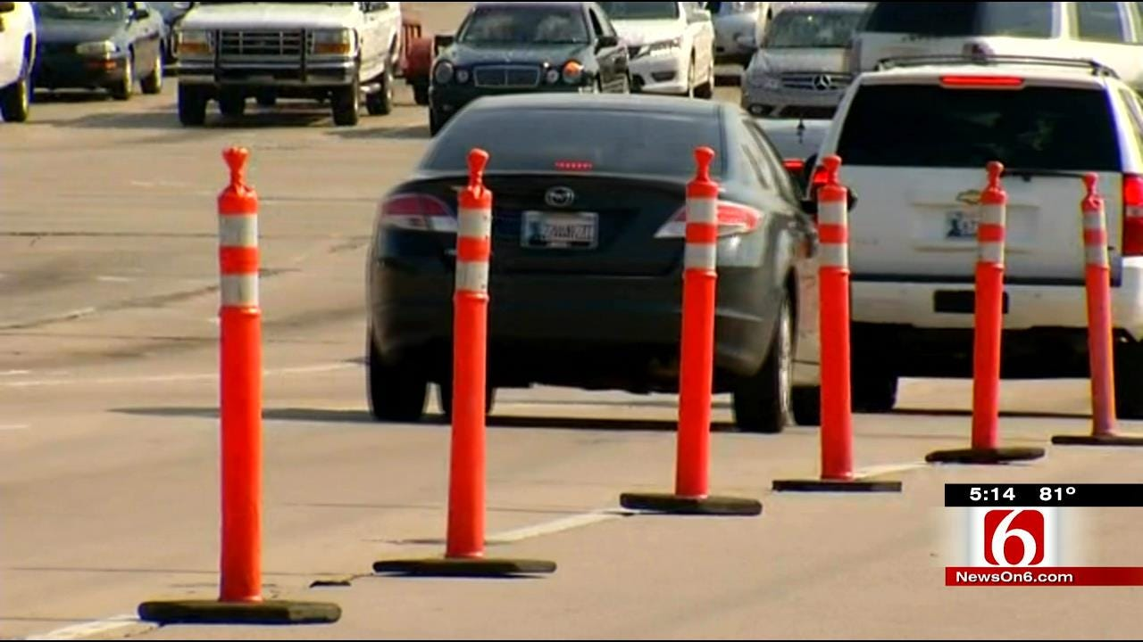 Tulsa Road Construction Underway At 71st And Memorial