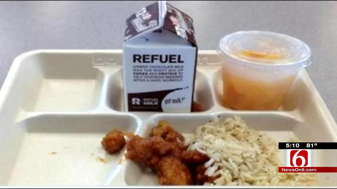 Pictures Of Some Oklahoma School Lunches Not Appetizing To Parents
