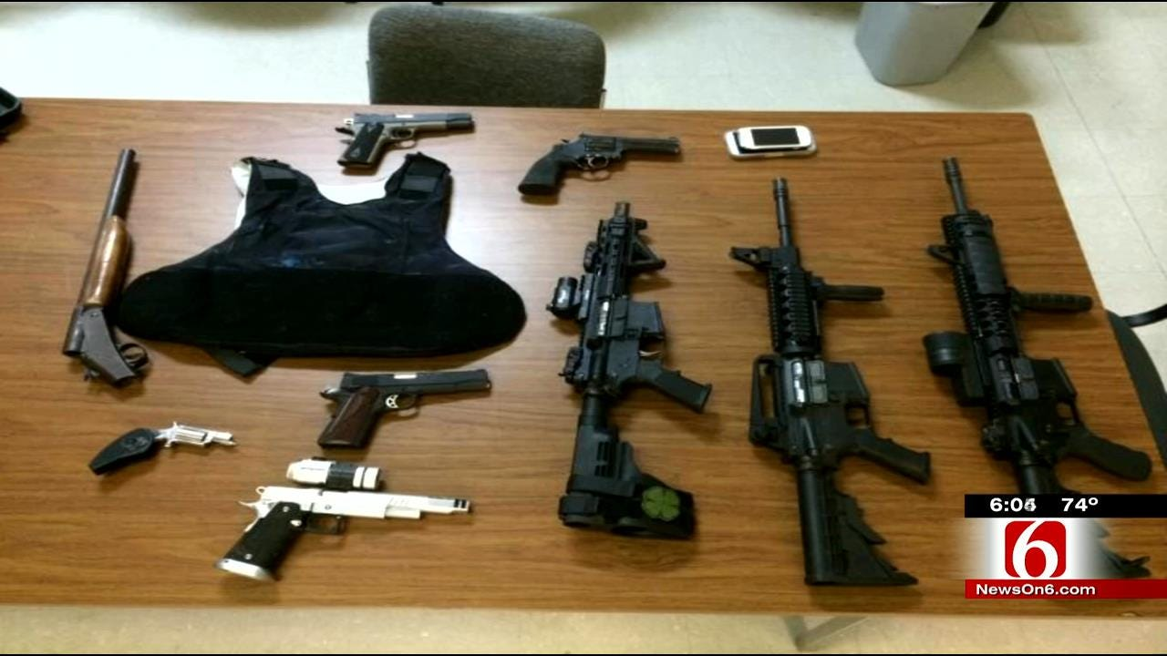 Tulsa Police Set New Record For Taking Guns Off The Streets