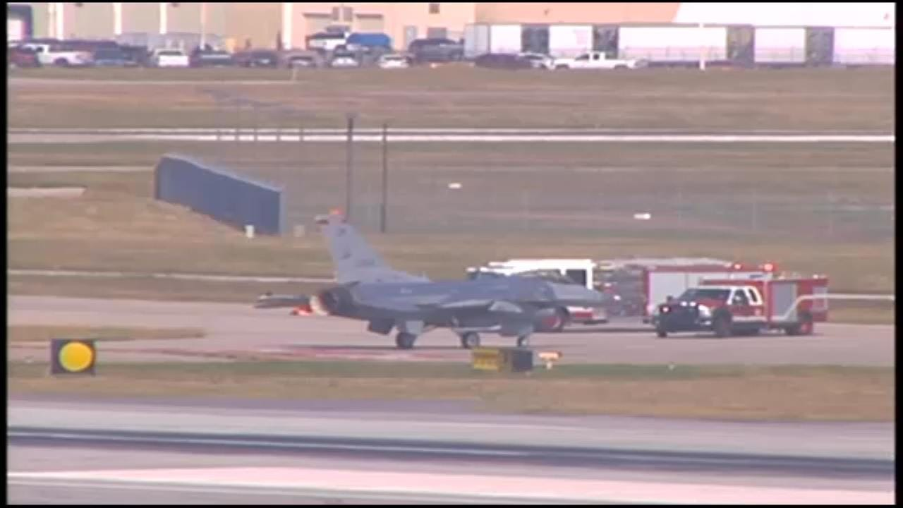 WEB EXTRA: Emergency Response After Report Of Mid-Air Collision Near Tulsa Airport