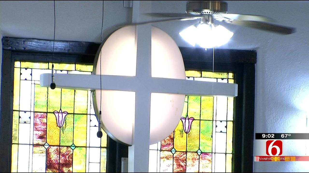 Tulsa Church Building Weathers Storm, Opens Doors To Parishioners Once Again