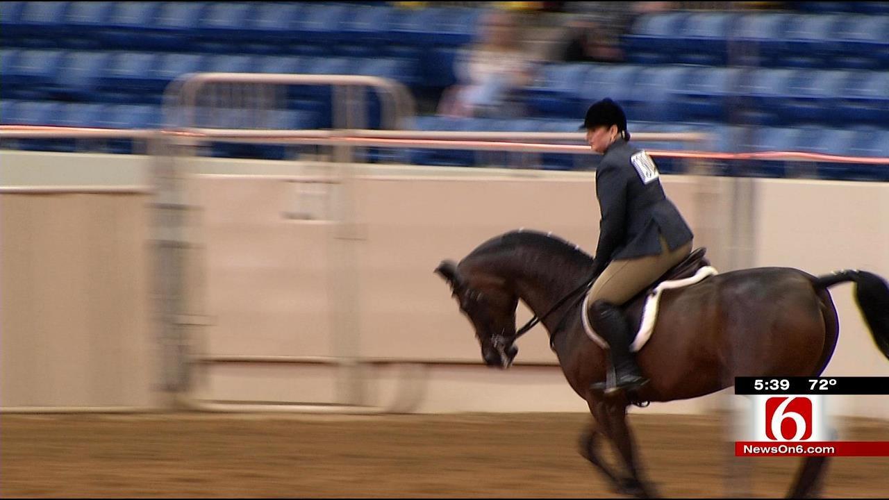 Horsemen Flock To Tulsa Fairgrounds For Arabian Championships