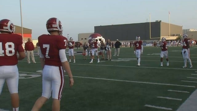 Owasso Character Coins Take To Football Field