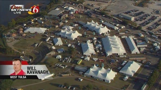 WEB EXTRA: Osage SkyNews 6 HD Flies Over Oktoberfest