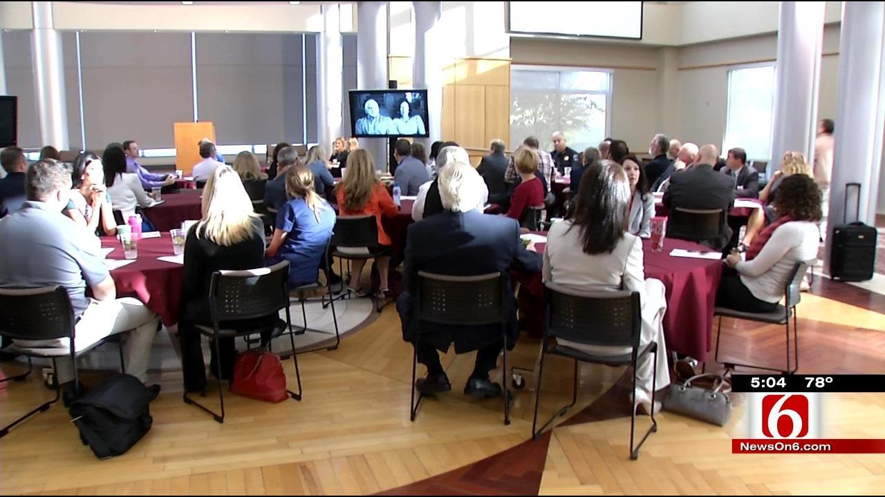 Prescription Drug Summit Emotional For Surviving Parents, Even Tulsa's Mayor