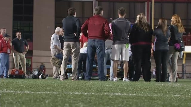 Union Football Player Expected To Make Full Recovery