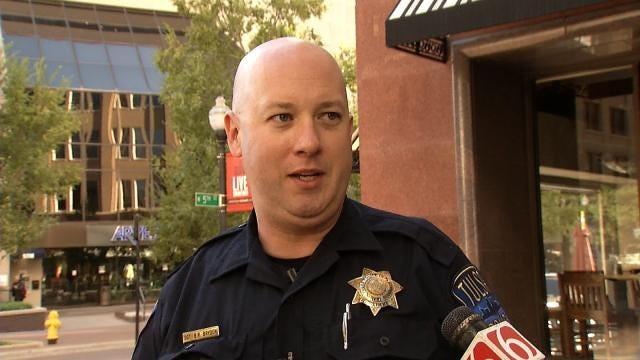 WEB EXTRA: Tulsa Police Respond To Mayo Building On 'Toy Gun' Call