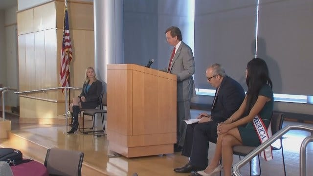 WEB EXTRA: Video From Tulsa Public Safety Summit Held At City Hall