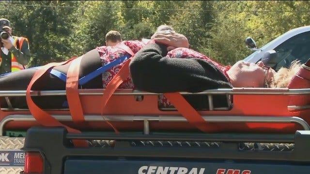 Five Critical After Arkansas Train Wreck
