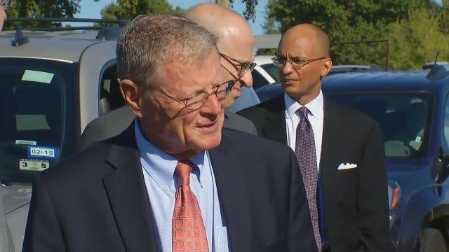 Inhofe, Transportation Secretary Talk About Ebola Protocols In U.S.