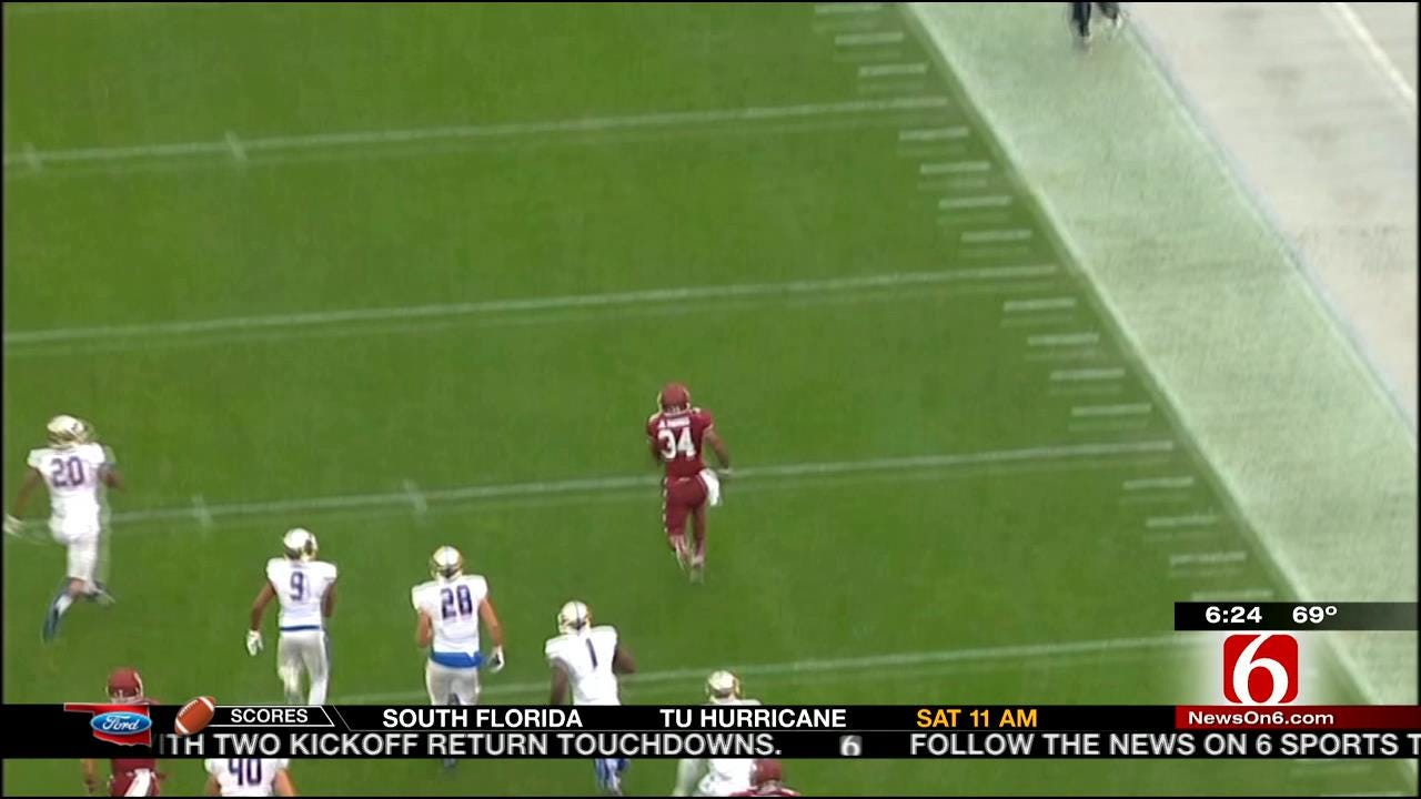 TU's Banged-Up Secondary Allowing Too Many Big Plays