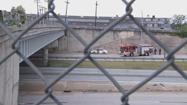 WEB EXTRA: Falling Concrete Injures Collinsville Woman Driving Under Bridge