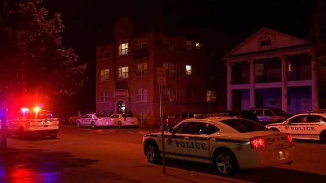 WEB EXTRA: Video From Scene Of Fatal Stabbing In Downtown Tulsa