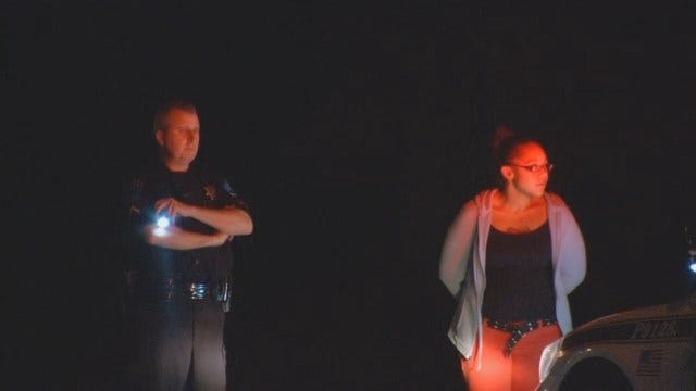 Tulsa Police: DUI Driver Laughs On The Way To Jail