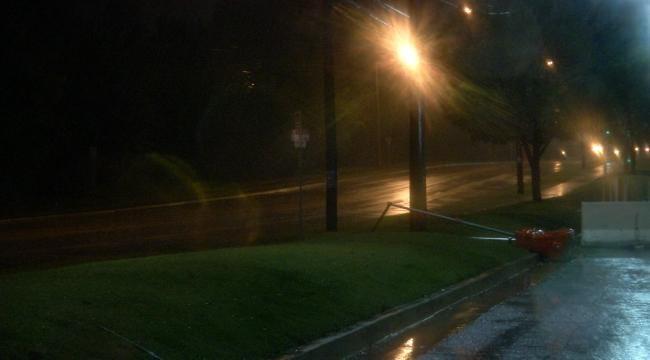 WEB EXTRA: Overnight Rain In Tulsa Area