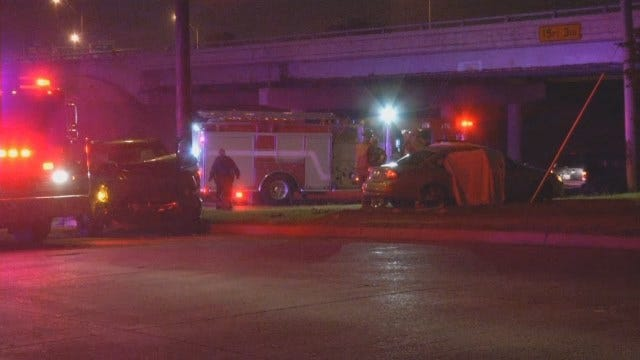 WEB EXTRA: Scenes From Fatal Wreck At 1st And Peoria