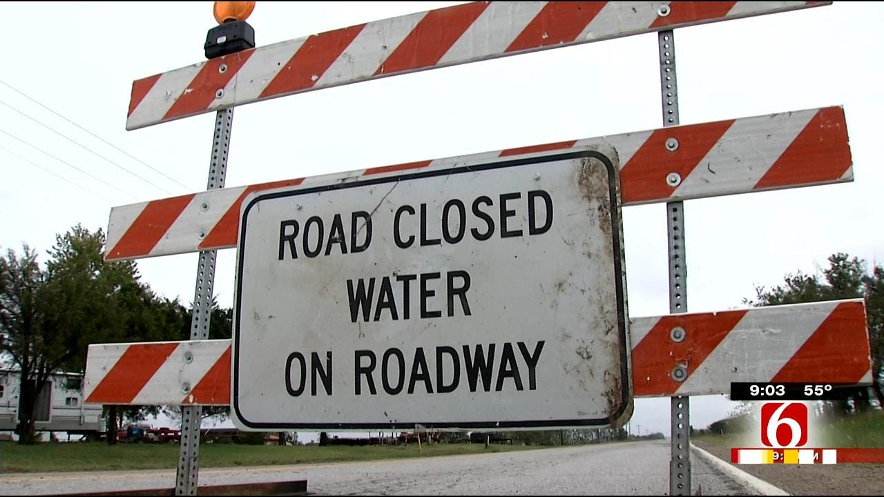 Flash Flooding Cancels School, Bursts Pipes In Nowata County