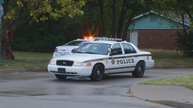 WEB EXTRA: Video From The Scene Of A Police Standoff In North Tulsa