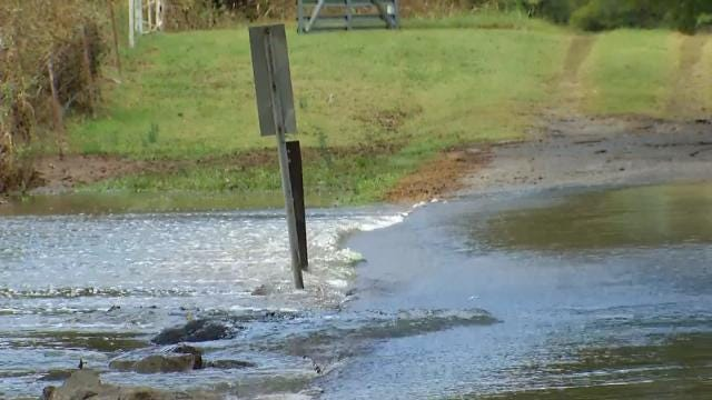 WEB EXTRA: Video Of Flooding Near Vinita In Craig County