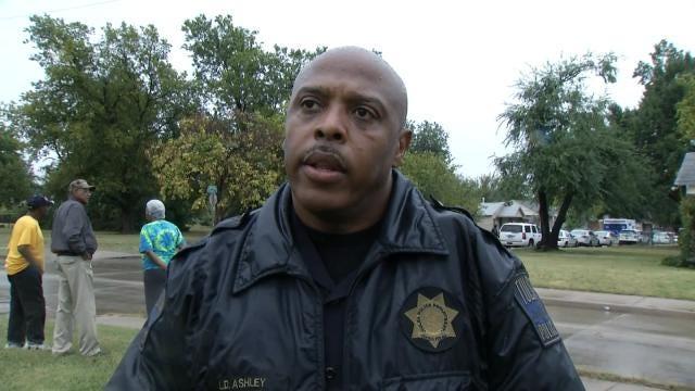 WEB EXTRA: Tulsa Police Officer Leland Ashley Talks About Standoff