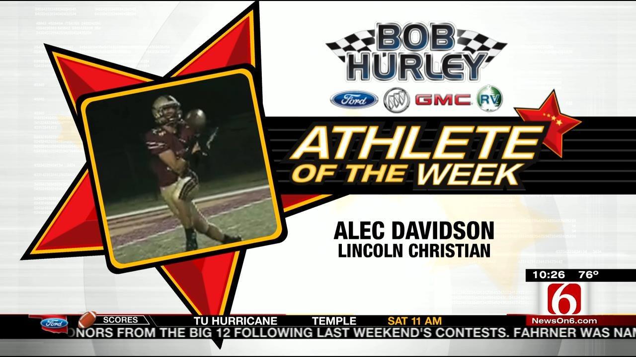 Athlete Of The Week: Lincoln Christian's Alec Davisdon