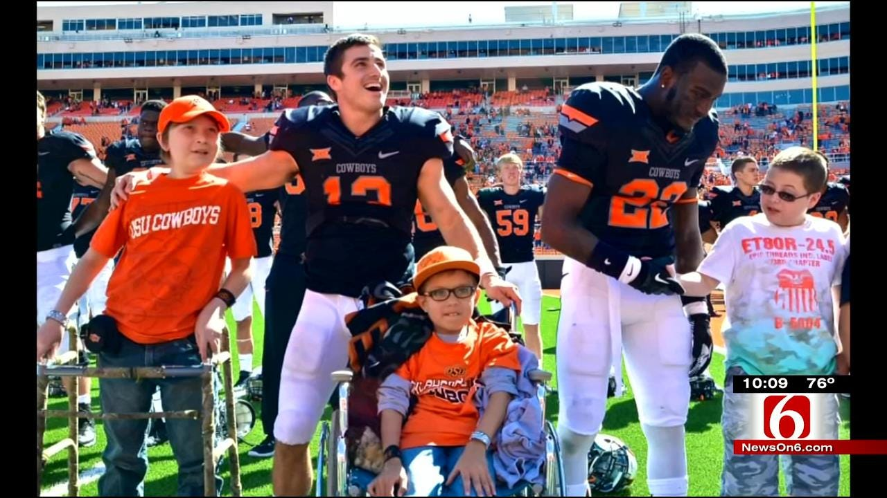 Teen With Brain Tumor Gets Star Treatment At OSU Football Game