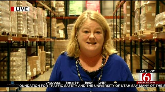 Director Of Community Food Bank of Eastern Oklahoma Talks About Walmart Grant