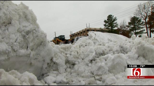 Broken Arrow Facing Salt Shortage After Harsh 2013 Winter