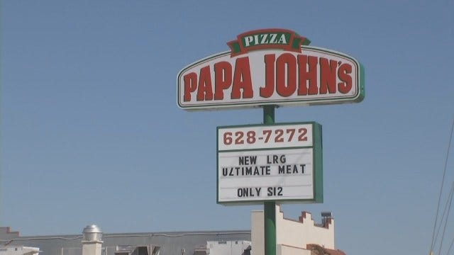 WEB EXTRA: Search For Tulsa Papa John's Murder Suspect