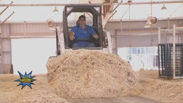 Crews Begin Tulsa State Fair Tear Down