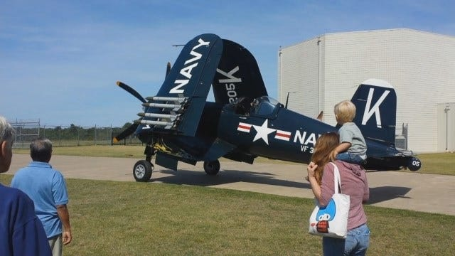 WEB EXTRA: Corsair Featured At Tulsa Air And Space Museum