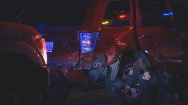 WEB EXTRA: Driver Abandons Injured Child In Tulsa Wreck