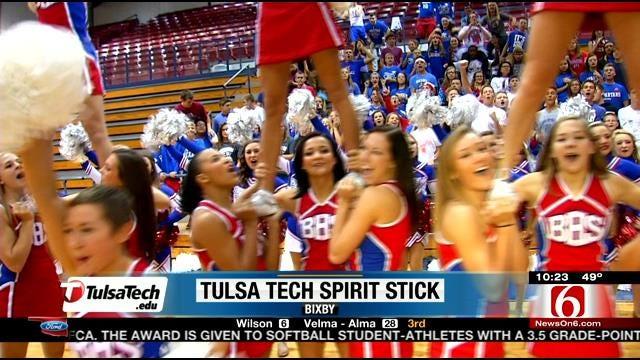 Week 5 Tulsa Tech Spirit Stick