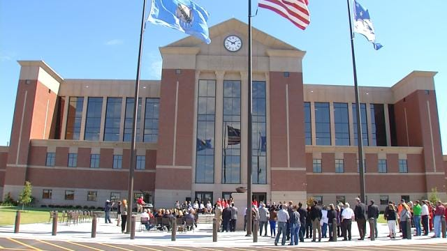 Rogers County Holds Dedication Ceremony For Their New County Courthouse