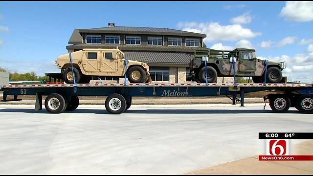Oklahoma Sheriffs Upset Over Senator Tom Coburn's Proposed Military Surplus Bill