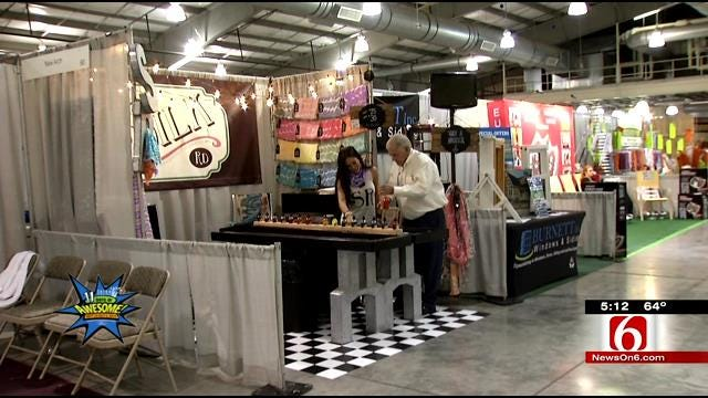 Creating Colorful Silk Scarves At The Tulsa State Fair