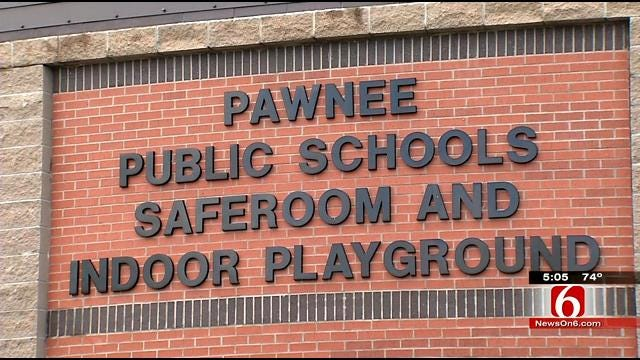 Pawnee Schools' New Domed Storm Shelter Ready For Use