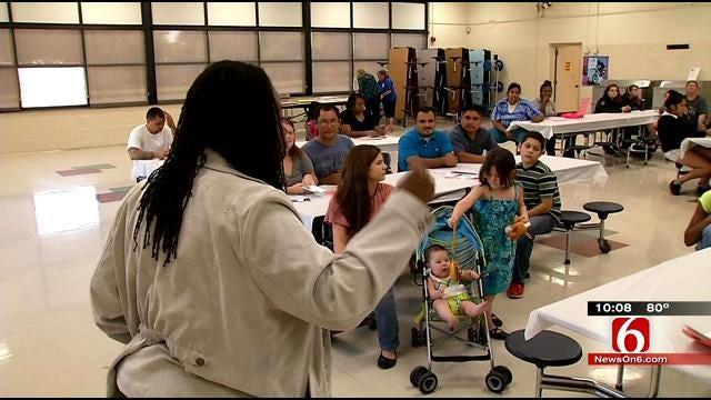Food Bank Brings Tulsa School Community Closer Together