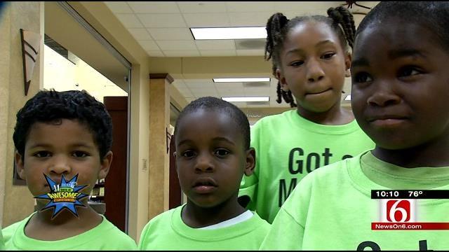 Hundreds Of Children Enjoyed The Tulsa State Fair